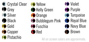 Rhinestones-colors